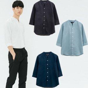 남성 노카라 7부셔츠(30221-020-483-26)