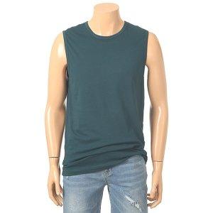 남녀공용 면혼방 기본민소매 티셔츠(NTF510)