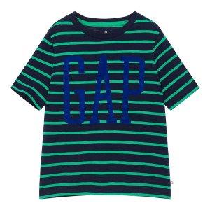 20년 SUMMER 키즈 남아 스트라이프 앤 로고 반팔 티셔츠 5210226063041