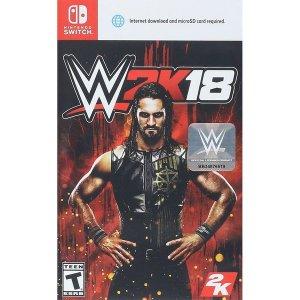 닌텐도 스위치 WWE 2K18