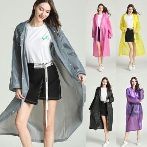 EVA 우비 남녀공용 성인 아동 레인코트 비옷 고급우의