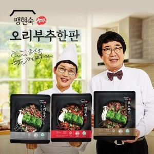 TV 팽현숙 오리부추한판 양념구이 250gX13판(매콤양념X5판+간장양념X5판+소금
