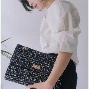 (지나인뉴욕)  fw신상오픈단독할인가노출~8/20 Lady Like chain handbag  레더콤보