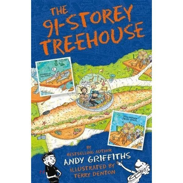 The 91-Storey Treehouse (영국판)  Andy Griffiths