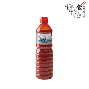 잘식비 해운대 양념초장 1.1kg 혼합장 초고추장 회초장