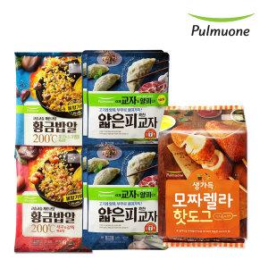 풀무원 집콕세트(볶음밥4인분+핫도그5개+고기만두4봉)