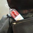 국내산 실리콘 휴대용 레드 빨대 1P 세트 솔 + 케이스