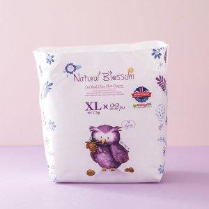 네추럴블라썸 초박형 팬티기저귀 XL 특대형 22매X4팩