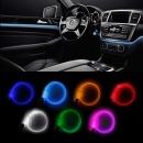 자동차 LED엠비언트 무드등 3세대 EL와이어/와이어 1M