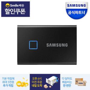 삼성전자 외장SSD T7 터치 1TB 블랙 / MU-PC1T0K/WW - 상품 이미지