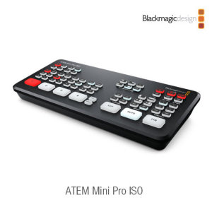 정품/ Blackmagic ATEM Mini Pro ISO /재고보유 new
