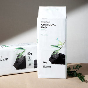시그니처 차콜 논슬립패드 소형 50매 강아지 배변패드