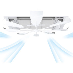 실프팬 천장형 에어컨 바람막이 공기순환기 국산정품