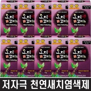 오디코디앤10박스 저자극염색 (튜브형/파우치형)선택