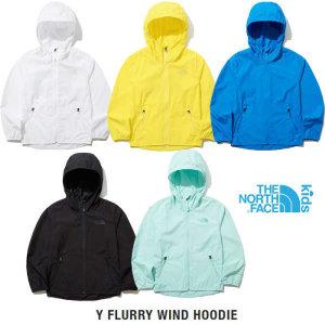 (현대백화점)노스페이스 키즈 NJ3LL12 플러리 윈드 후디 자켓 아동 바람막이점퍼