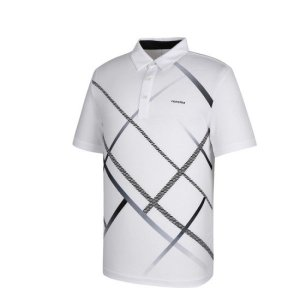 남성 사선 프린트 카라 반팔 티셔츠 RMTYH2140