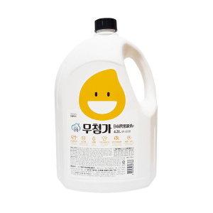 강청 무첨가EM대용량세탁세제4.2L