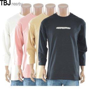 남녀공용 레터링 티셔츠 T172TS040P