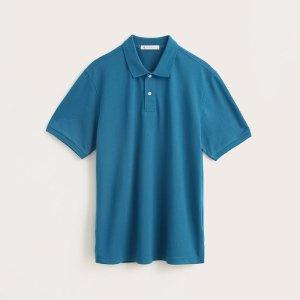 남녀공용 베이지 폴로 티셔츠(10270-230-401-01)