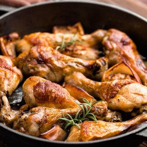 에어프라이어 치킨 떴닭 로스트1kg+1kg/100%국내산