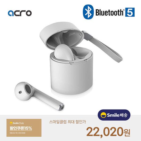 ACRO i11 블루투스 무선 이어폰 5.0 화이트 차이팟