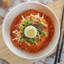 쫄면10인분세트 면+쫄면장+비빔장5봉/ 2세트시 떡볶이