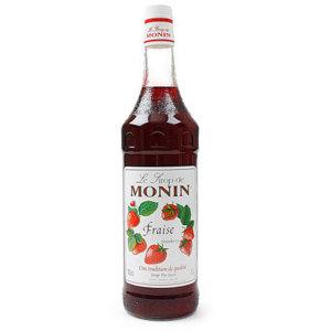 모닌 스트로베리 딸기시럽 1000ml 1박스 6개