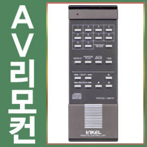 CD-1163TR (CD-1163TRㅣ정품ㅣ인켈리모콘ㅣCD리모콘)