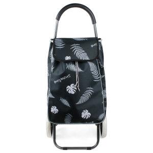 나뭇잎 접이식 쇼핑카트 CN 시장카트 쇼핑 핸드카트