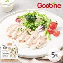 소스가 맛있는 닭가슴살 화이트머쉬룸 100g/5팩/GA22