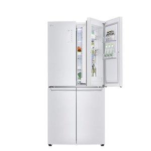 디오스 F872SW30 냉장고 샤이니 화이트 866L