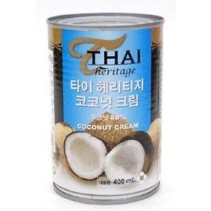 타이헤리티지 코코넛크림 400ml 요리로 즐겨요