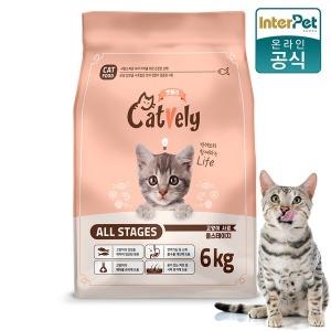 고양이사료 캣블리 6kg 박스포장 / 2687a