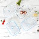 내열 강화유리 밀폐용기 3종세트(대용량) / 반찬통