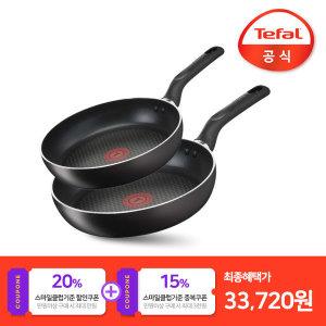 테팔 이노바시오 인덕션 프라이팬2종세트 (24cm+28cm)