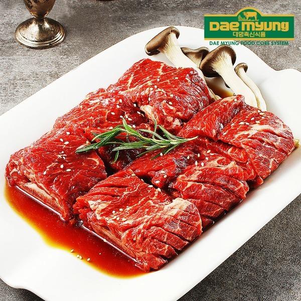 대명축산식품 양념 소 이동갈비 25대 1.9kg