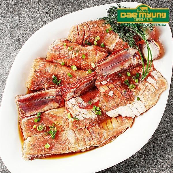 대명축산식품 양념돼지갈비 전통 국내산 돼지고기 1kg