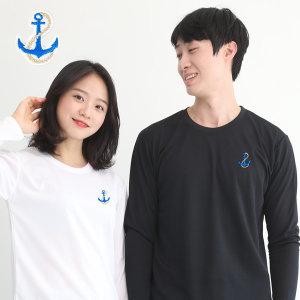 기능성 쿨론 단체 긴팔 닻자수 쿨 티셔츠