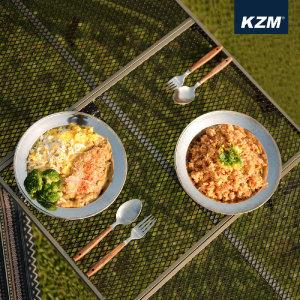 (현대Hmall)카즈미 캠핑 식기세트 22P/식기세트/식기