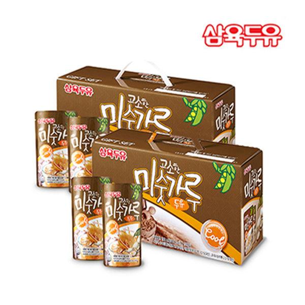 미숫가루파우치 두유 190ml 30팩 외 4종 택1 건강음료
