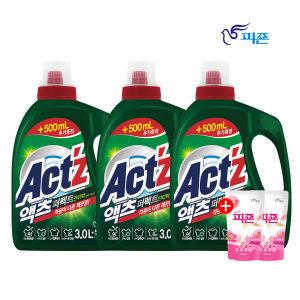 액츠 퍼펙트 세탁세제 안티박 3.5L 3개 +사은품