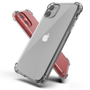 아이폰X/XS 핸드폰 투명 젤리 범퍼 케이스