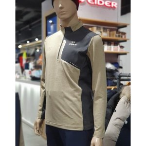 아이더 AM 맥너스 테크니컬 배색 집업티셔츠 (DMU19