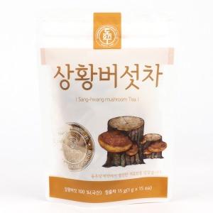 동우당제약 유기농 상황버섯차 15g (1g x 15티백)