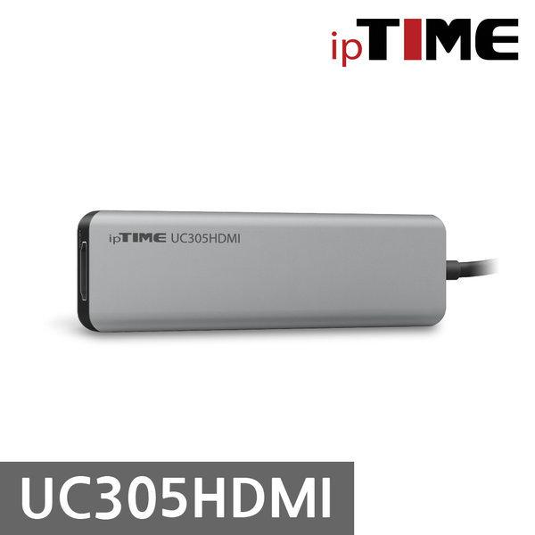 오늘출발 ipTIME UC305HDMI Type-C 5in1 USB 허브