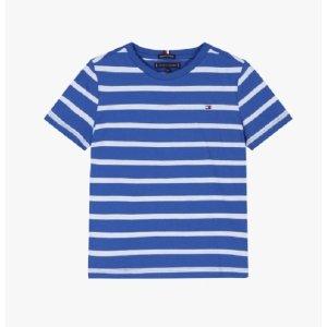 스트라이프 반소매 티셔츠( T42A1KKO022BT1 )