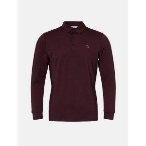 30만 상품권증정 남성 와인 에센셜 칼라 티셔츠 (BJ0841B70Z)