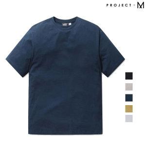 남성 세미오버핏 반팔 티셔츠 EPA2TR1156