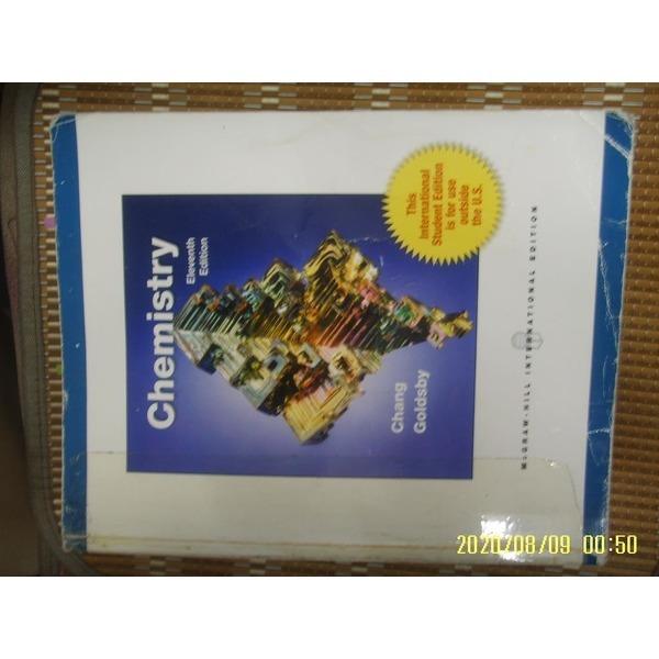헌책/ 외국판 Mc Graw Hill / 11판 Chemistry / Chang. Goldsby  -사진.꼭 상세란참조