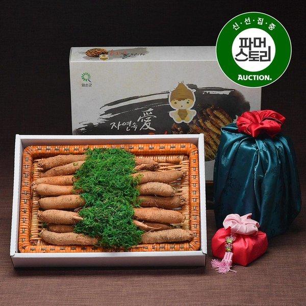더덕 선물세트 1kg 소 20-25뿌리